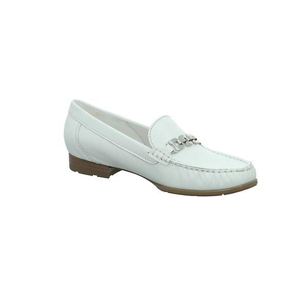 ara, Mokassins, weiß Schuhe  Gute Qualität beliebte Schuhe weiß c444da