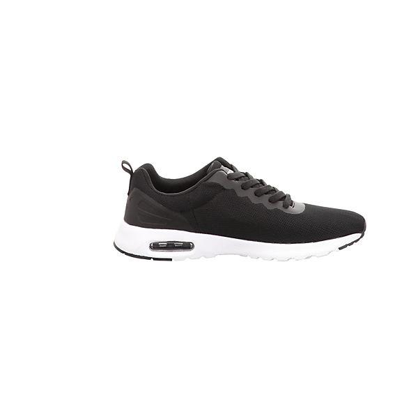 Kappa, Gute Sneakers Low, schwarz  Gute Kappa, Qualität beliebte Schuhe 36e120