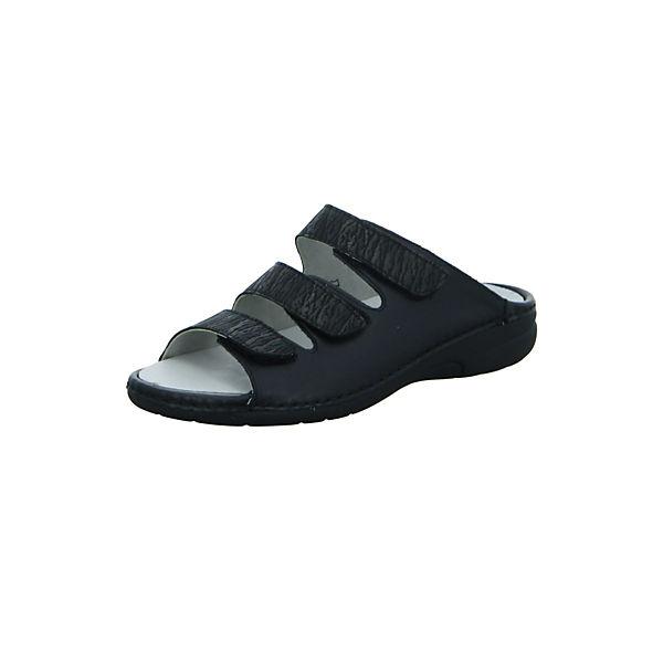 WALDLÄUFER Pantoletten WALDLÄUFER WALDLÄUFER schwarz schwarz WALDLÄUFER schwarz Komfort Komfort Pantoletten Komfort Pantoletten OFxOqEX