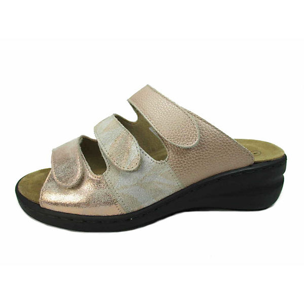 Solidus, Komfort-Pantoletten, bronze  Gute Qualität beliebte Schuhe