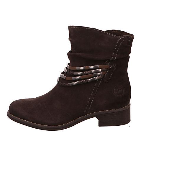 MARCO TOZZI, Keilstiefeletten, braun  Gute Qualität beliebte Schuhe