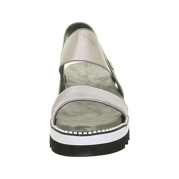 bugatti Klassische Sandalen silber  Gute Qualität beliebte Schuhe