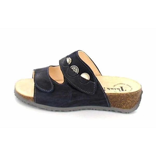 Think! Komfort-Pantoletten blau  Gute Qualität beliebte Schuhe