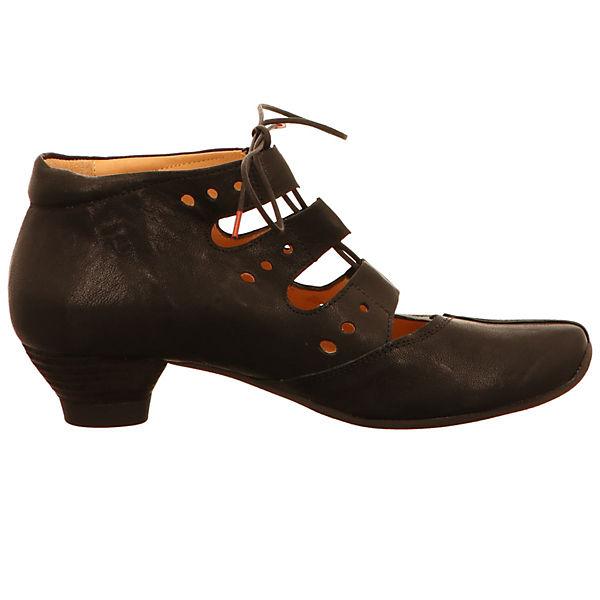 Think!, Schnürpumps, beliebte schwarz  Gute Qualität beliebte Schnürpumps, Schuhe aeb43e