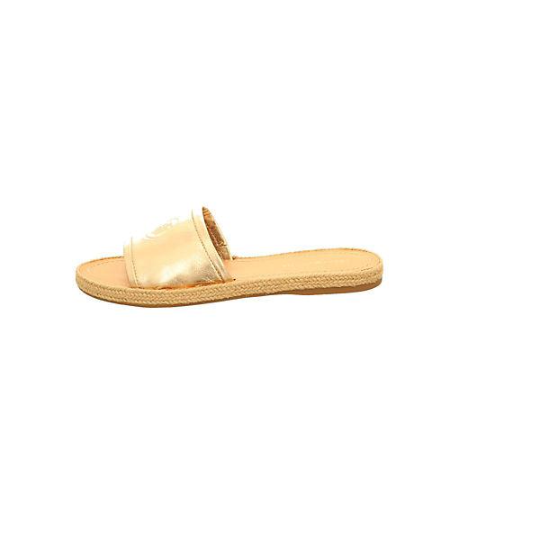 TOMMY HILFIGER, Pantoletten, gold Schuhe  Gute Qualität beliebte Schuhe gold f2410b