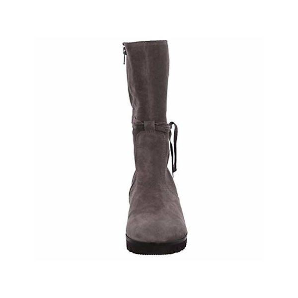 Gabor, Klassische Stiefel, grau grau Stiefel,   e4f1c0