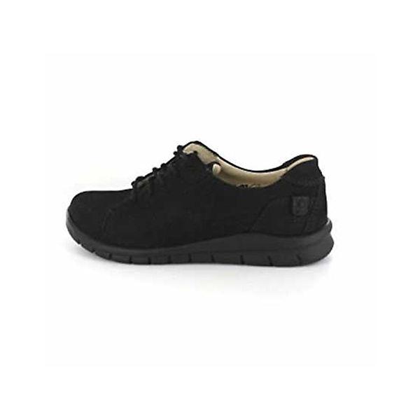WALDLÄUFER, Klassische Halbschuhe, schwarz  Gute Qualität beliebte Schuhe
