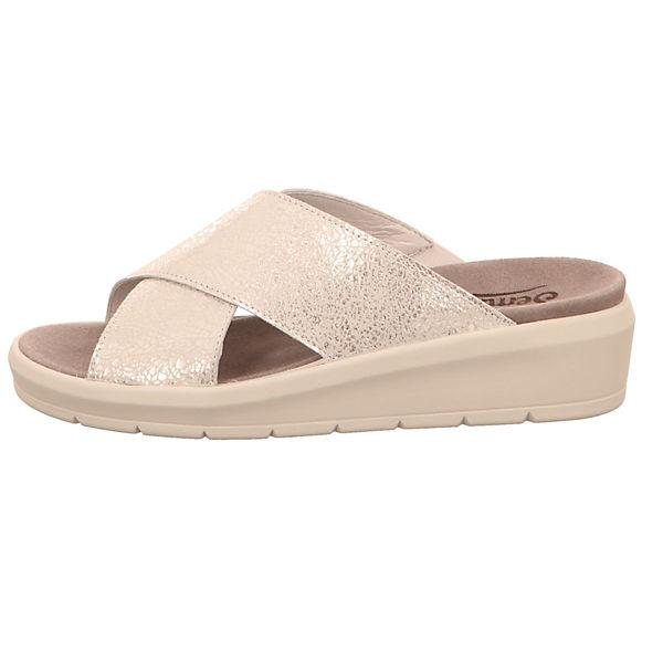 Semler,  Pantoletten, gold  Semler, Gute Qualität beliebte Schuhe 12e04b