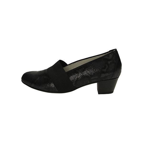 WALDLÄUFER, Klassische Gute Pumps, schwarz  Gute Klassische Qualität beliebte Schuhe bc847e