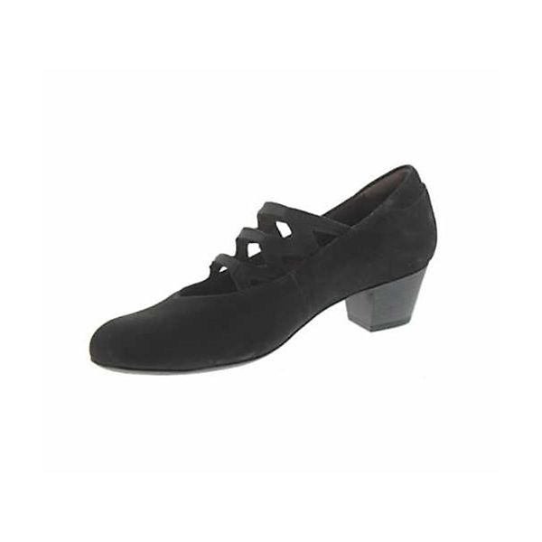 WALDLÄUFER Spangenpumps schwarz  Gute Qualität beliebte Schuhe