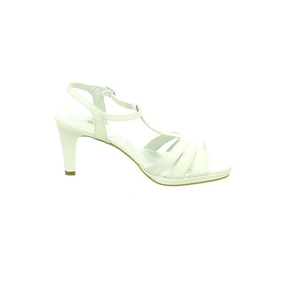 Tamaris, Klassische Sandaletten, weiß    Gute Qualität beliebte Schuhe 065f0a