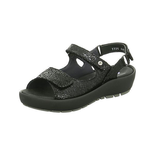 Wolky Sandaletten Klassische Sandaletten schwarz Wolky Klassische wB6Bfq