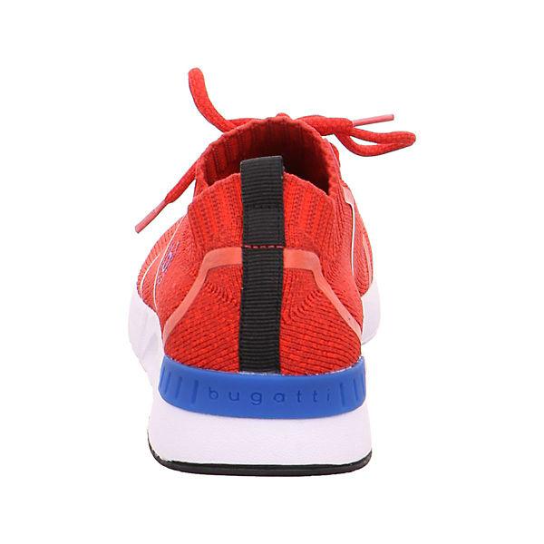 Bugatti Rot Low Sneakers Bugatti Low Sneakers UpSGqMzV