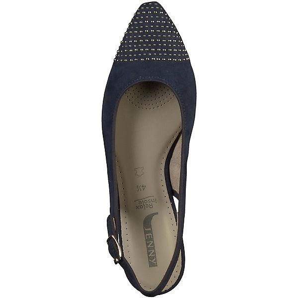 JENNY, Sling-Pumps, beliebte blau  Gute Qualität beliebte Sling-Pumps, Schuhe 1f2c92