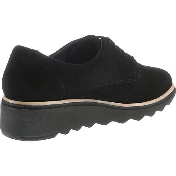 Clarks, Sharon Noel Qualität Schnürschuhe, schwarz  Gute Qualität Noel beliebte Schuhe afb63f