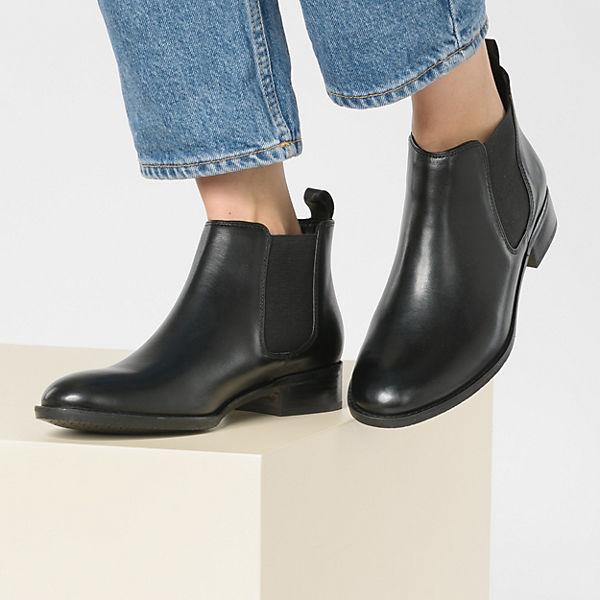 Clarks Netley Ella Chelsea Boots schwarz  Gute Qualität beliebte Schuhe