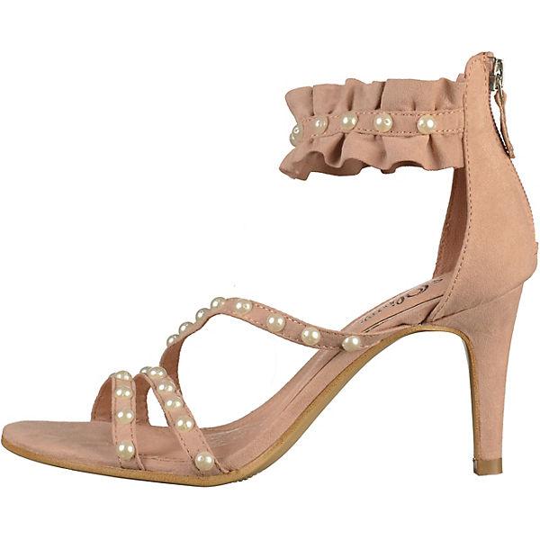 s.Oliver, Klassische Sandaletten, rosa