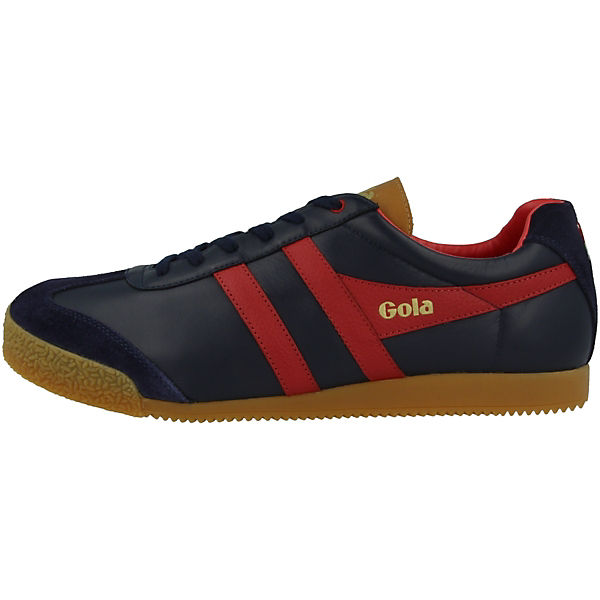 Low Shop Gola Barber Harrier blau Sneakers x64qIg4