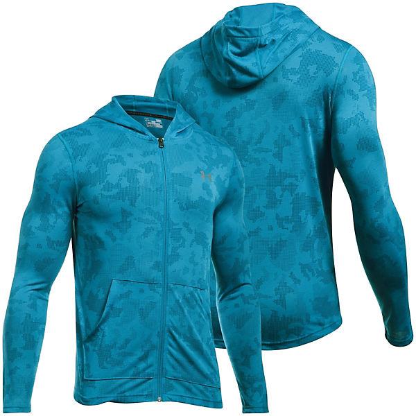 Fitted Full Threadborne blau Under Sweatjacken Zip Siro Armour 1w8WnpqBH