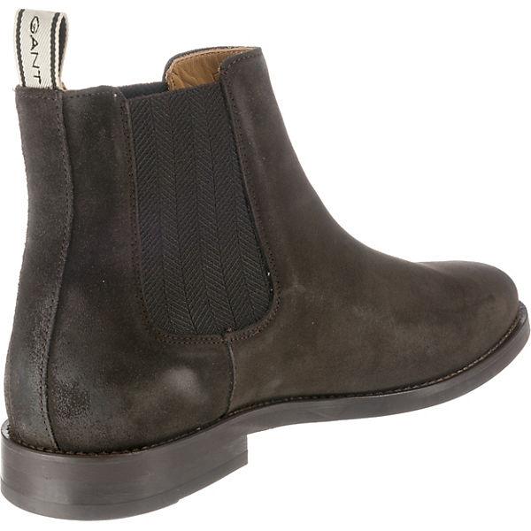 GANT Boots GANT Max Max Chelsea dunkelbraun Chelsea wCpzqE6