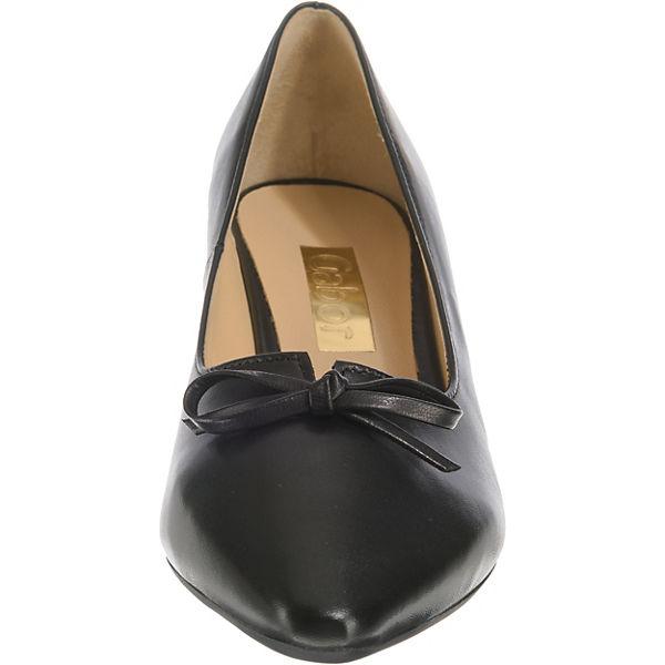 Gabor, Klassische Pumps, schwarz beliebte  Gute Qualität beliebte schwarz Schuhe eacb00