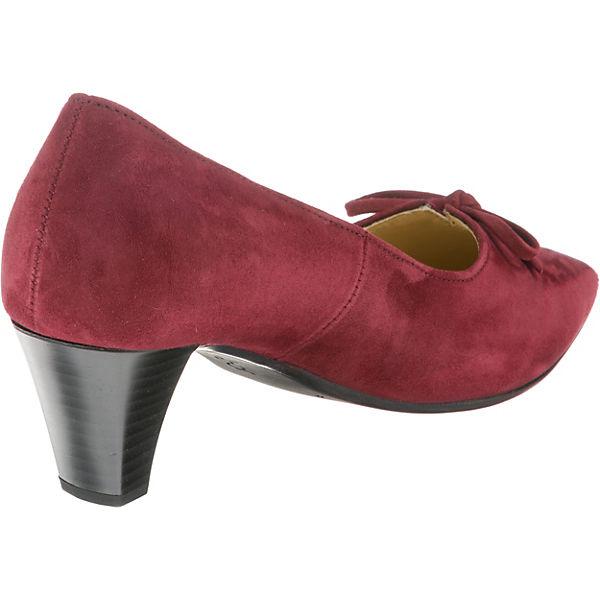 Gabor, Klassische Pumps, rot beliebte  Gute Qualität beliebte rot Schuhe fa556c