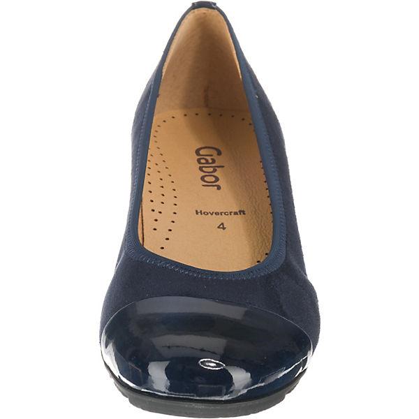 Ballerinas Gabor blau blau Ballerinas Klassische Gabor Klassische Gabor 1P6YwBq4