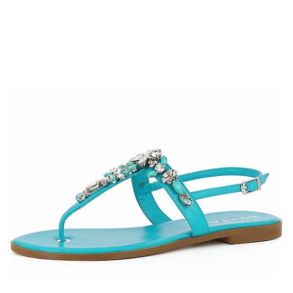 Evita türkis Sandalen Shoes OLIMPIA Klassische 7UwY47rAq