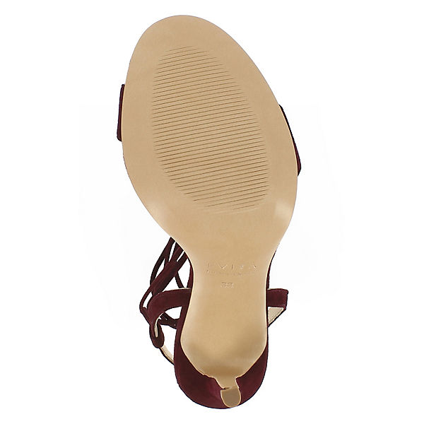 Evita Schuhes, EVA Klassische beliebte Sandaletten, bordeaux Gute Qualität beliebte Klassische Schuhe 0cf21c
