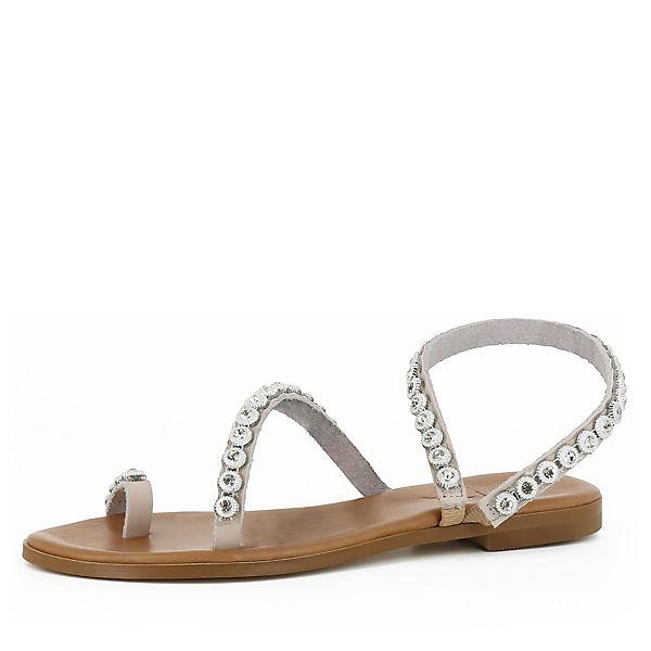 Klassische champagner Shoes OLIMPIA Evita Sandalen vqUwn01xgp