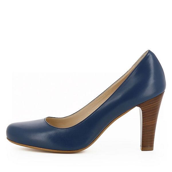 Shoes Klassische Evita MARIA blau Pumps UndAAgq1w