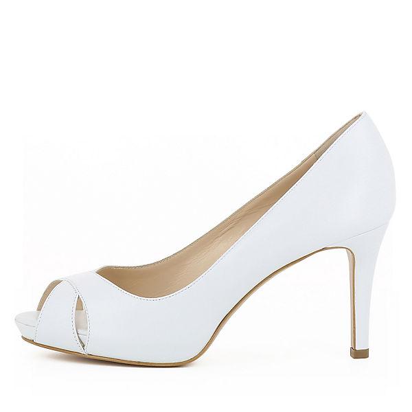 Evita Shoes, ELISA Qualität Peeptoe-Pumps, weiß  Gute Qualität ELISA beliebte Schuhe c98bfb
