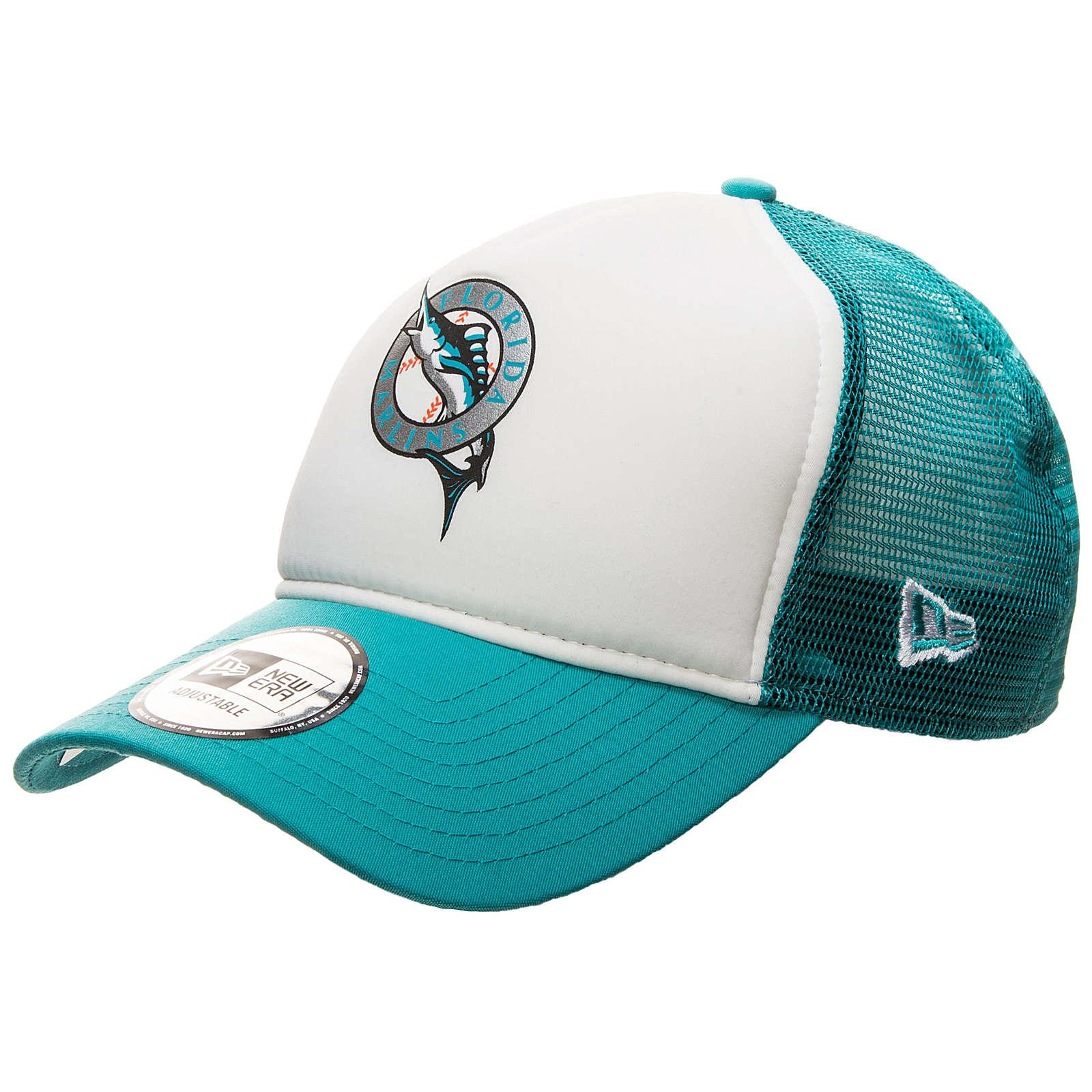 New Era 9FORTY MLB Miami Marlins Trucker Caps g...