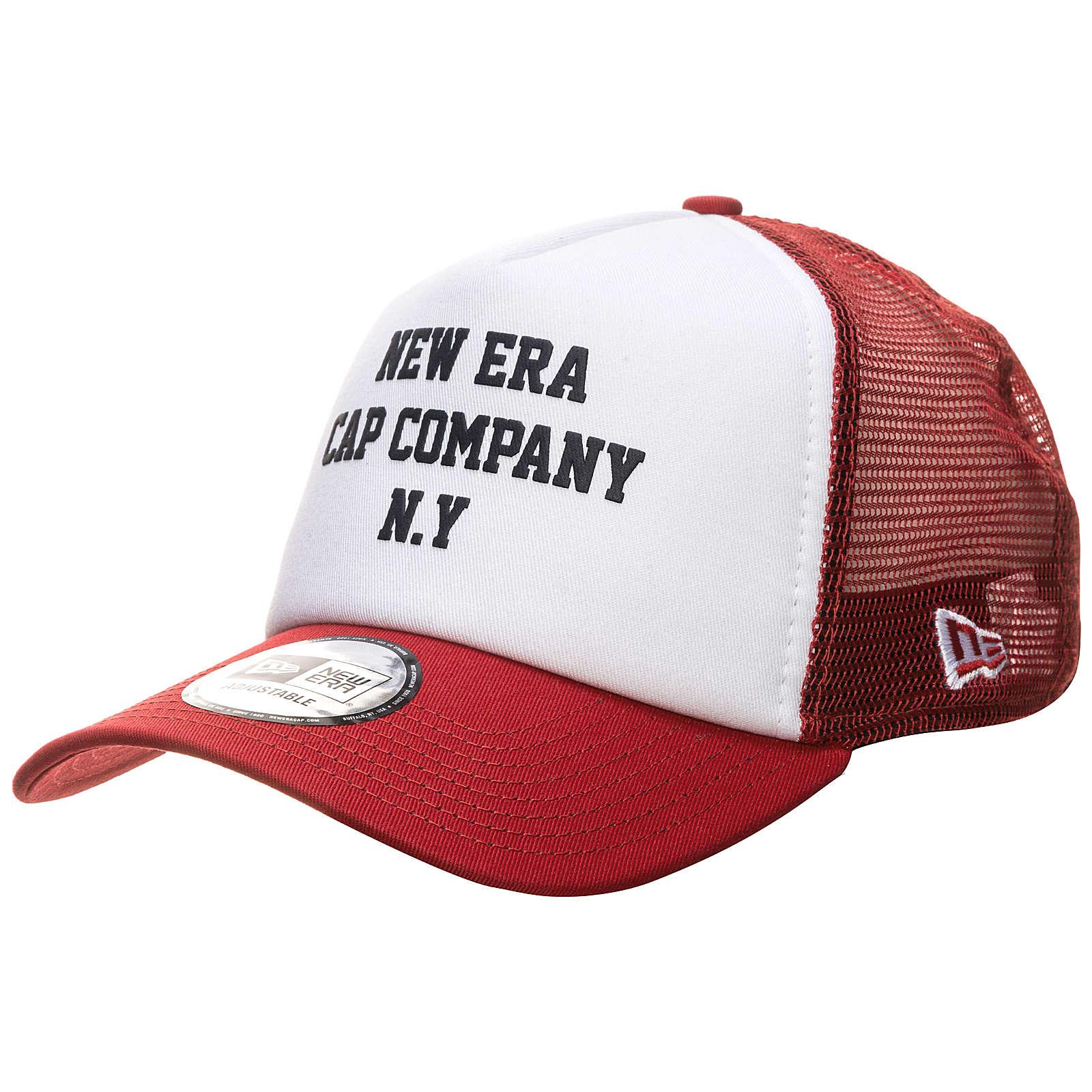 New Era A-Frame Colour Block Trucker Caps weiß ...