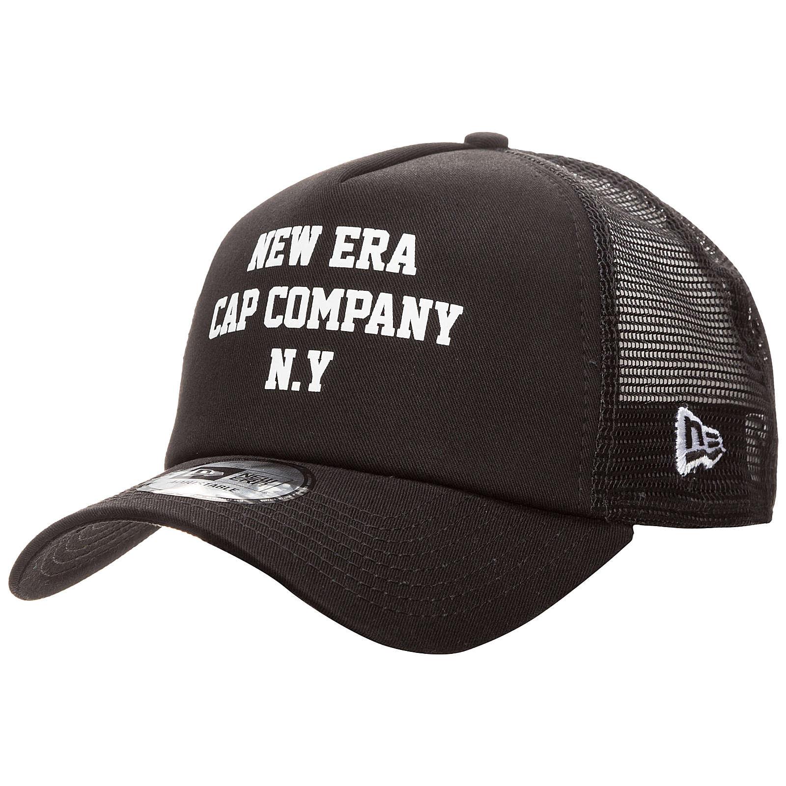 New Era A-Frame Colour Block Trucker Caps schwa...