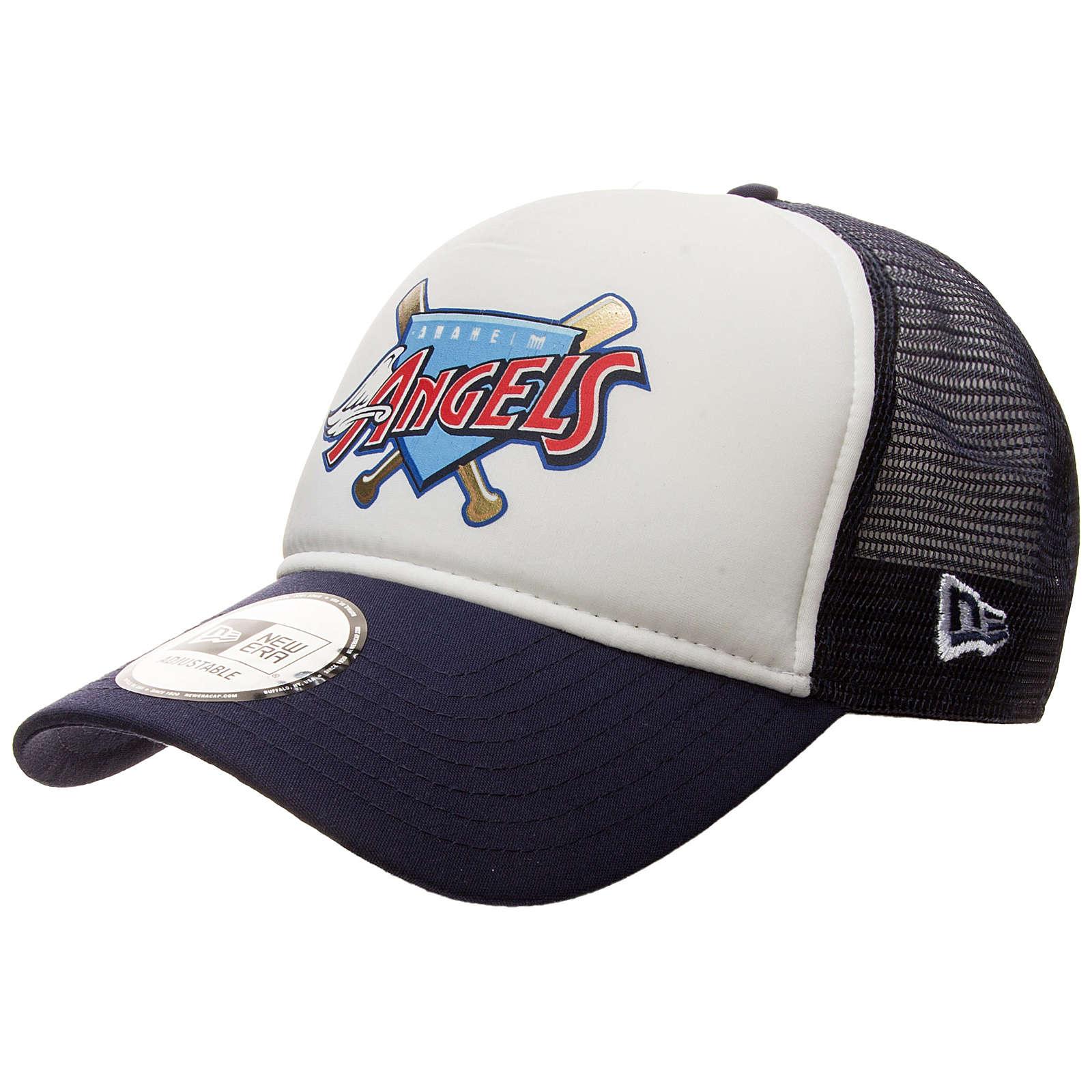 New Era 9FORTY MLB Anaheim Angels Trucker Caps ...