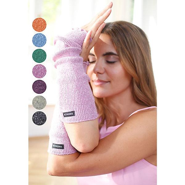 Stulpen blau grau Yogistar Yoga Armwärmer zRWnST