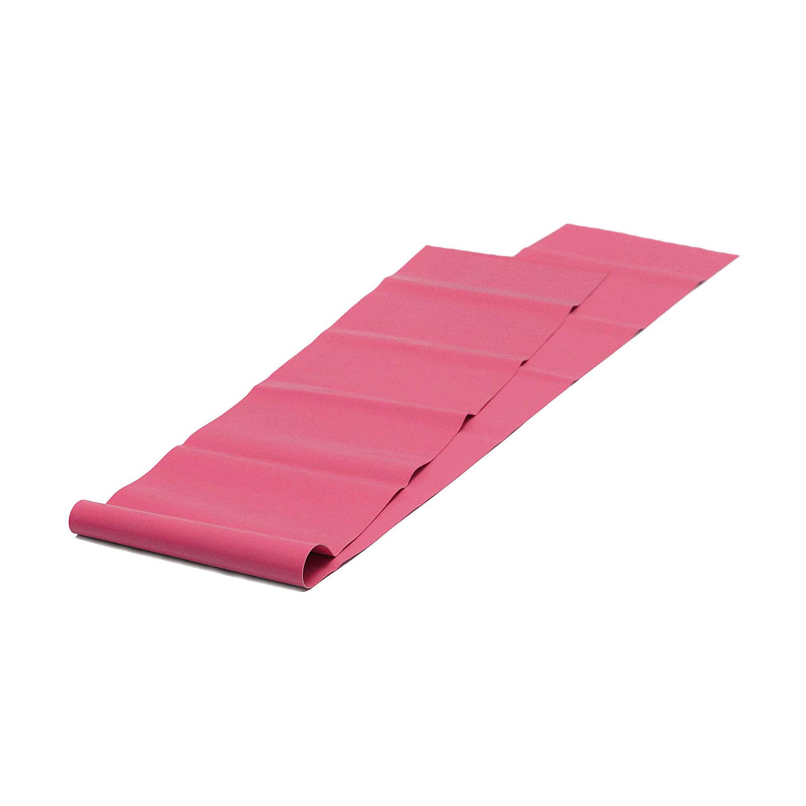 Yogistar Pilates Stretchband - latexfrei Fitnesszubehör rot