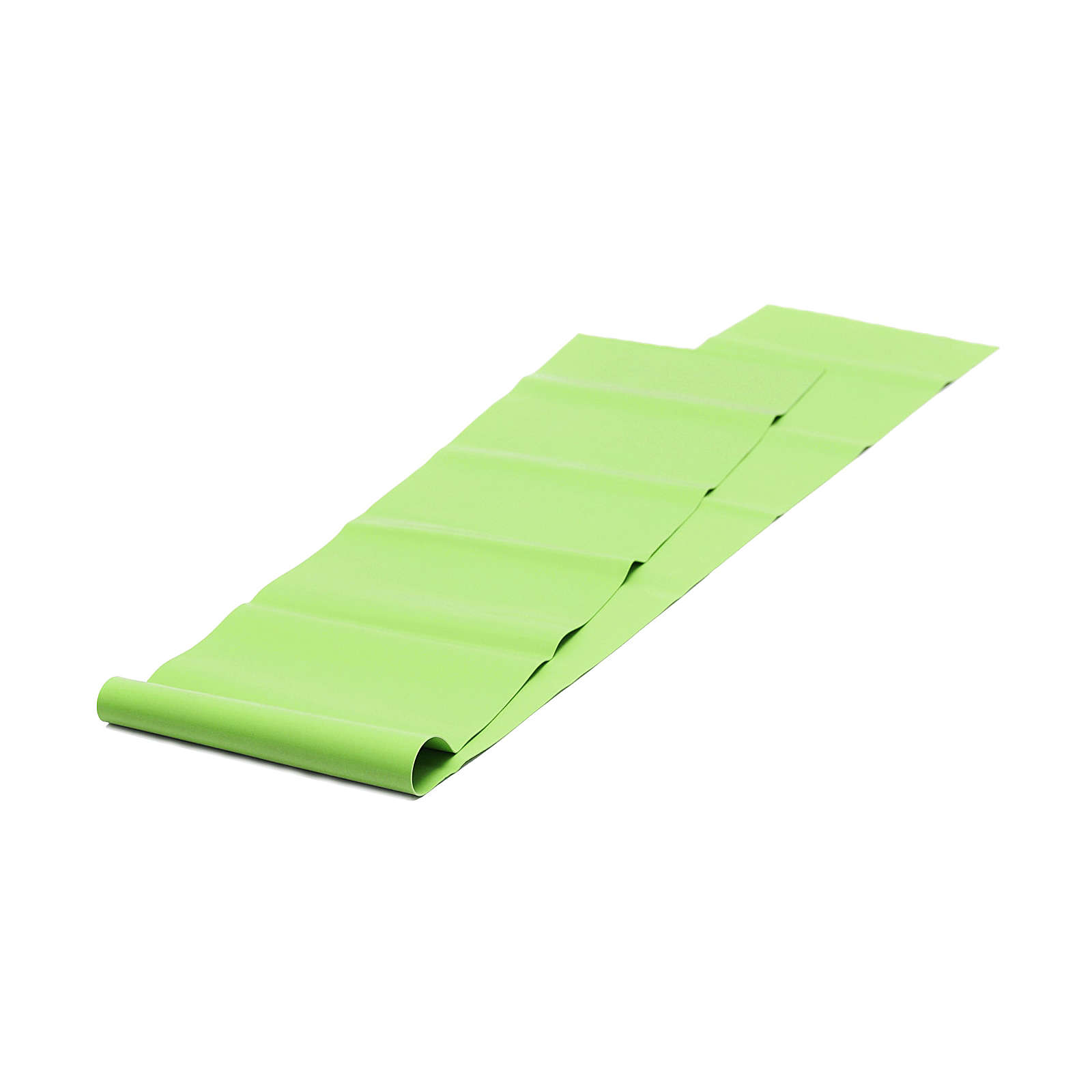 Yogistar Pilates Stretchband - latexfrei Fitnesszubehör grün