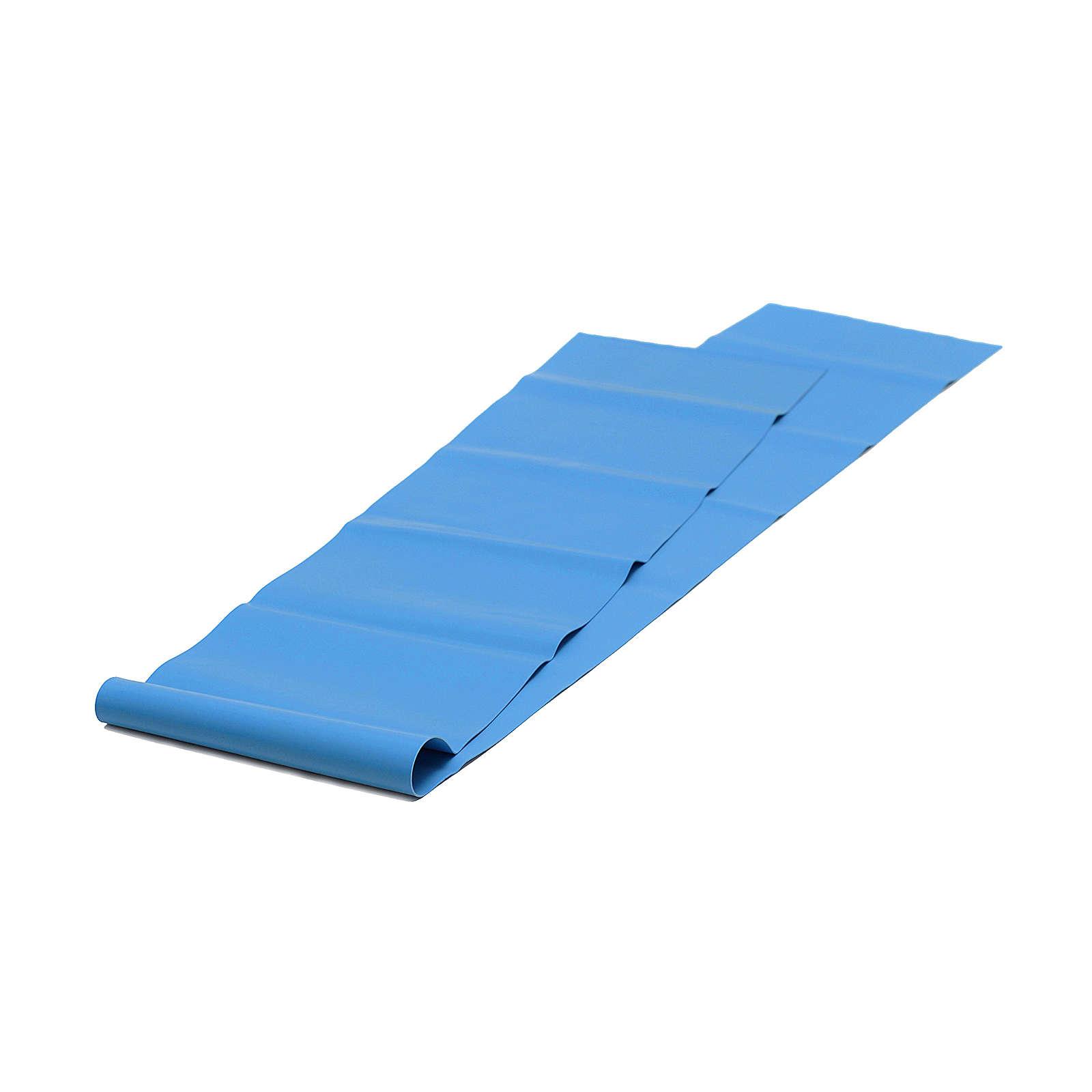 Yogistar Pilates Stretchband - latexfrei Fitnesszubehör blau