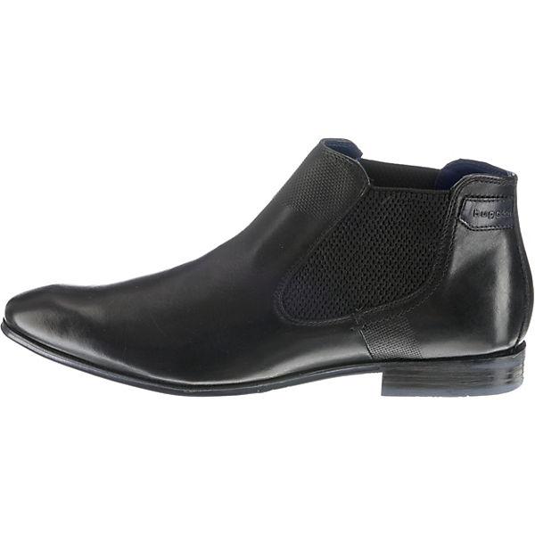 bugatti, Mattia Chelsea Boots, schwarz     5e00bc