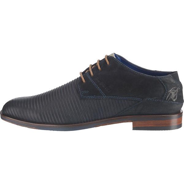 bugatti, Rainel Evo Qualität Business-Schnürschuhe, dunkelblau  Gute Qualität Evo beliebte Schuhe 7f4c49