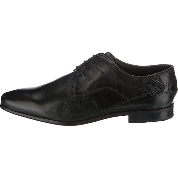 Morino bugatti Business schwarz Schnürschuhe Schnürschuhe schwarz Business Morino bugatti HqSgEnwxv