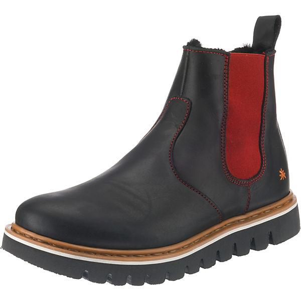 Erstaunlicher Preis *art Chelsea Boots schwarz