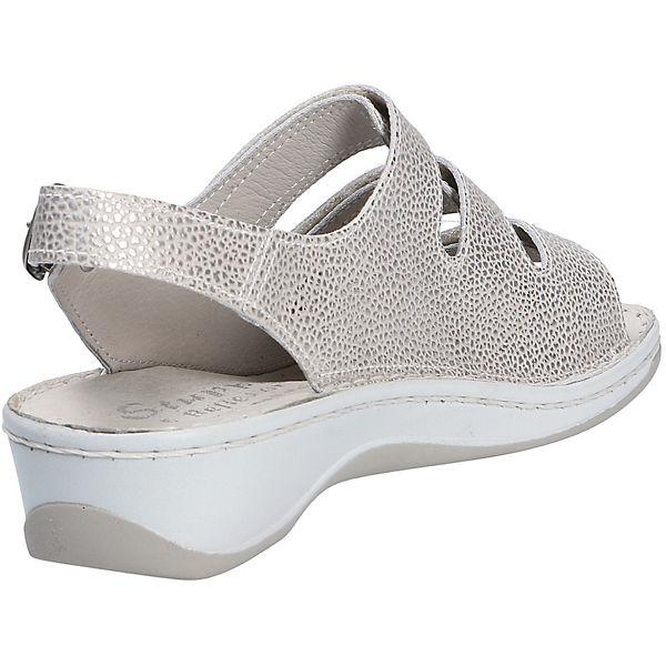 grau Sandalen Komfort Sandalen Stuppy Stuppy Komfort Xg7wdqnAB