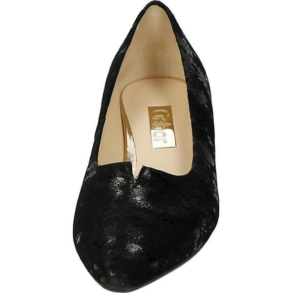 Gabor, Gabor, Gabor, Klassische Pumps, schwarz  Gute Qualität beliebte Schuhe c0ab1a