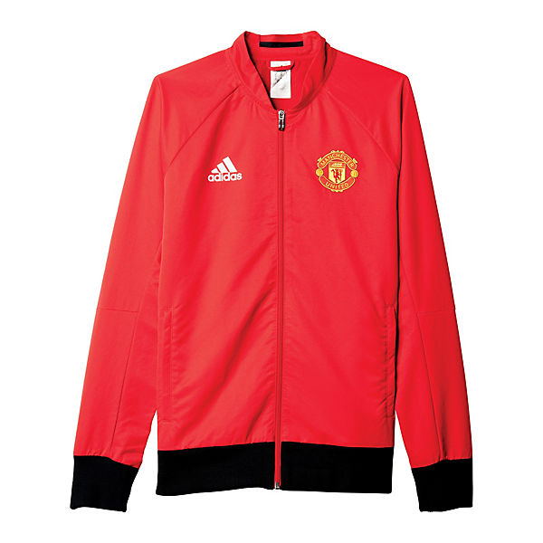 16 United 2015 Manchester Ai5401 Woven Trainingsjacken Adidas Rot kombi Performance Anthem zUpGqSMV