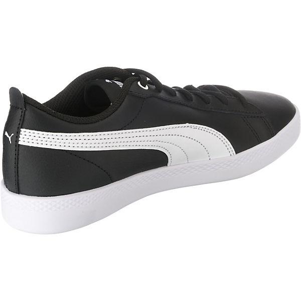 PUMA, Sneakers Low, schwarz   schwarz  c5fe96