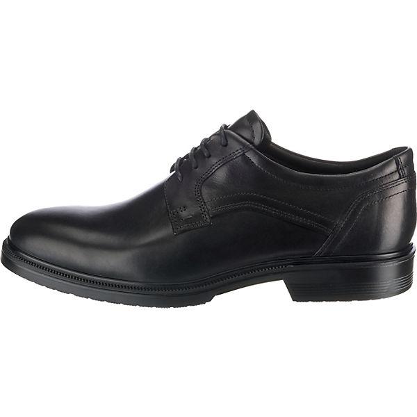 ecco, Lisbon  Business-Schnürschuhe, beliebte schwarz  Gute Qualität beliebte Business-Schnürschuhe, Schuhe 89cc83