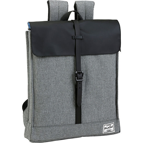 Messenger Rucksack BlackFit8 Black & Grey